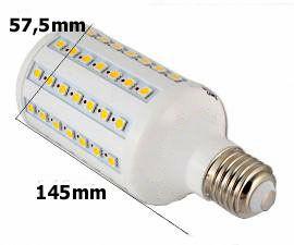 rozmiary żarówki LED VK Light 13W