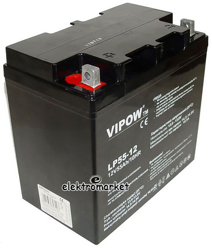 akumulator AGM VIPOW LP550-12