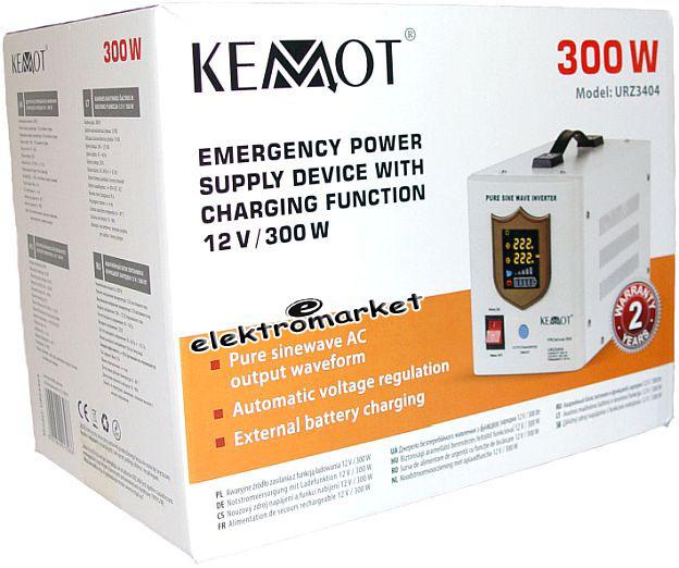 Awaryjne zasilanie Kemot Pro Sinus URZ3404 box