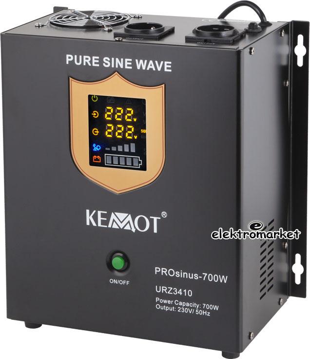 przetwornica awaryjnego zasilania 700W Kemot URZ3410 wersja naścienna