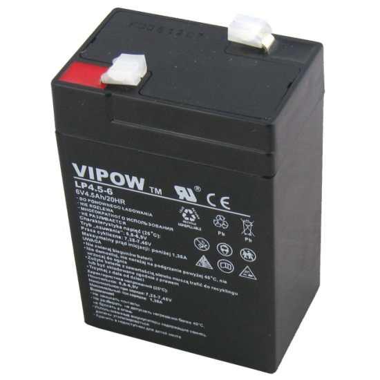 akumulator żelowy 6V 4,5 Ah