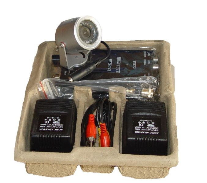 Kamera bezprzewodowa zewn. IR komplet z odbiornikiem