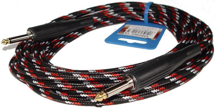 kabel gitarowy 5m KPO2758 Cabletech w oplocie