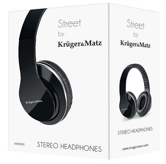 pudełko słuchawek Kruger&Matz model Street KM0630