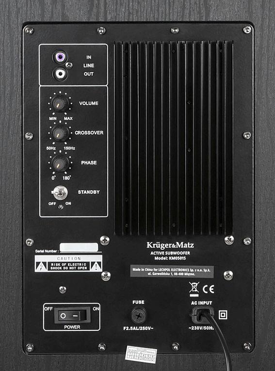 KM0501S back panel tył zbliżenie