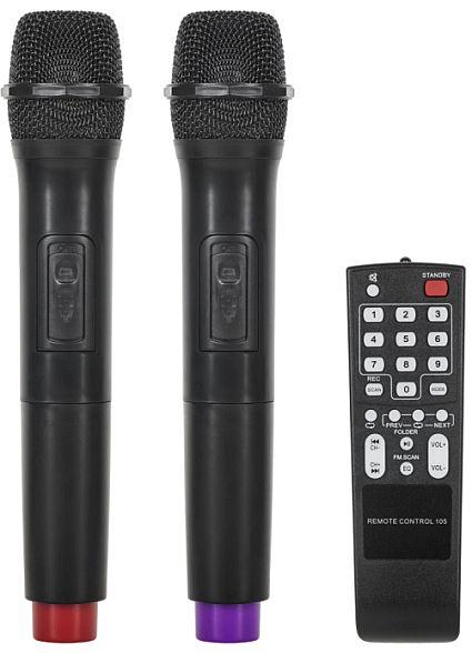 Kolumna aktywna Azusa MIK0134 2 x mikrofon bezprzewodowy + pilot