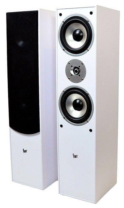 Kolumny podłogowe Voice Kraft VK-1004 białe white