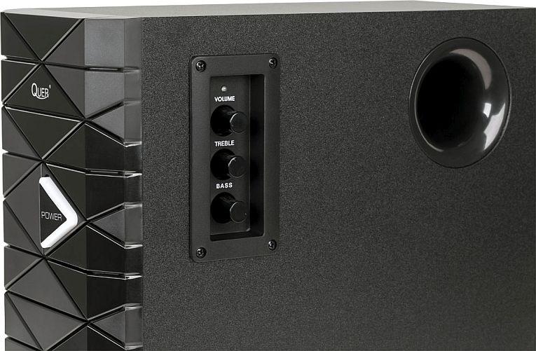Głośniki komputerowe Quer KOM0605 - zbliżenie
