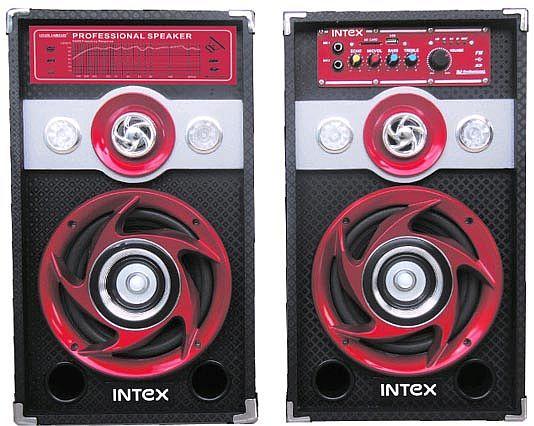 Kolumny głośnikowe aktywne Intex DJ-601 front