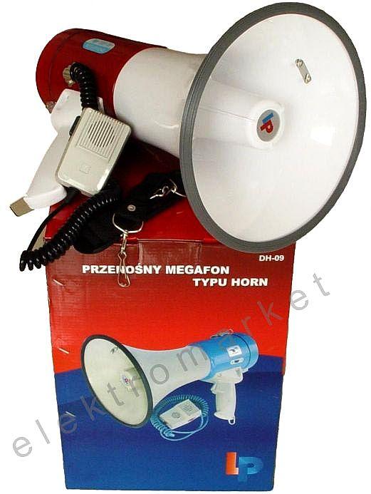 megafon DH9 z pudełkiem