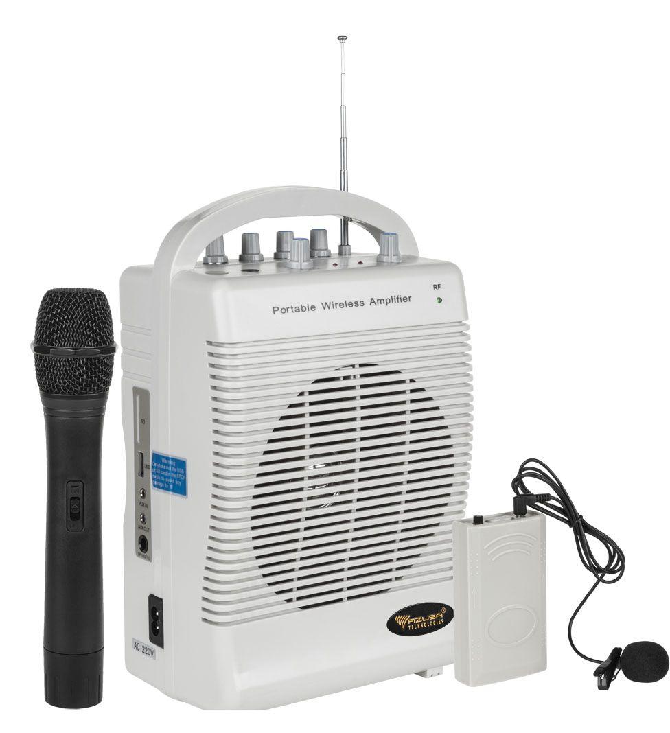 PRZENOŚNE NAGŁOŚNIENIE SH222U 2 mikrofony bezprzewodowe MIK0132