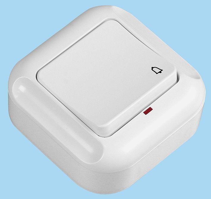 Przycisk natynkowy dzwonek podświetlany WNT-7T/S bis