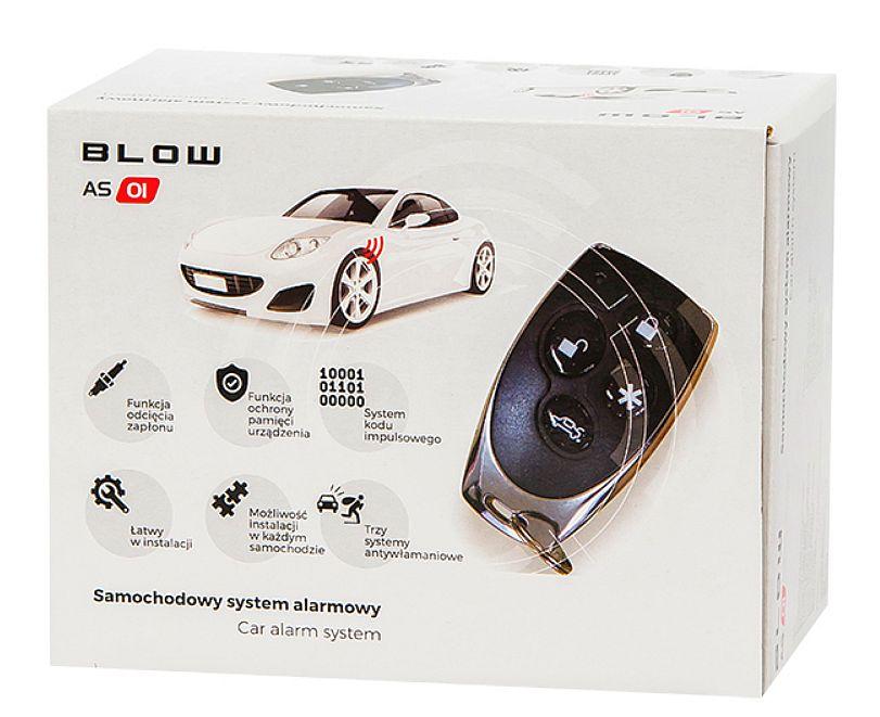 alarm BLOW AS1 box