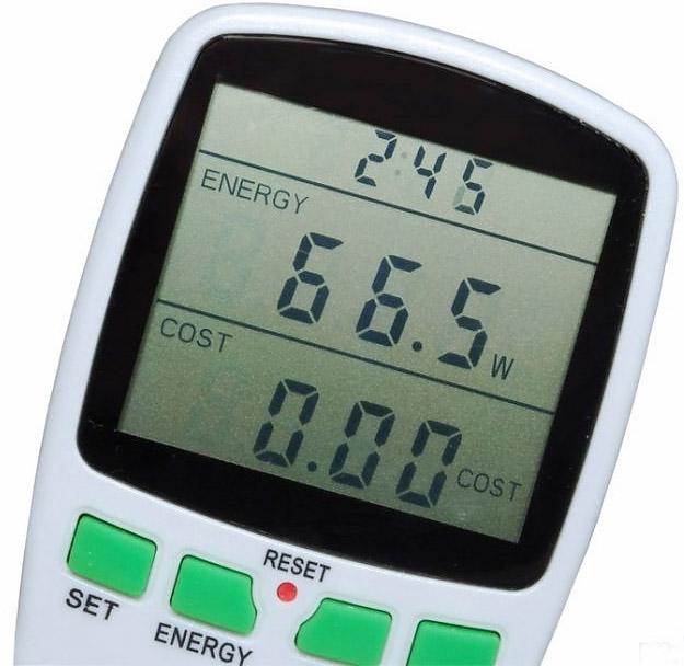 Gniazdo sieciowe z miernikiem zużycia energii URZ0665