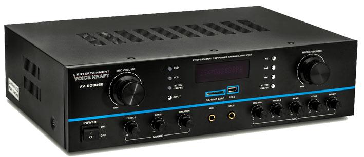 wzmacniacz AV-808 Voice Kraft