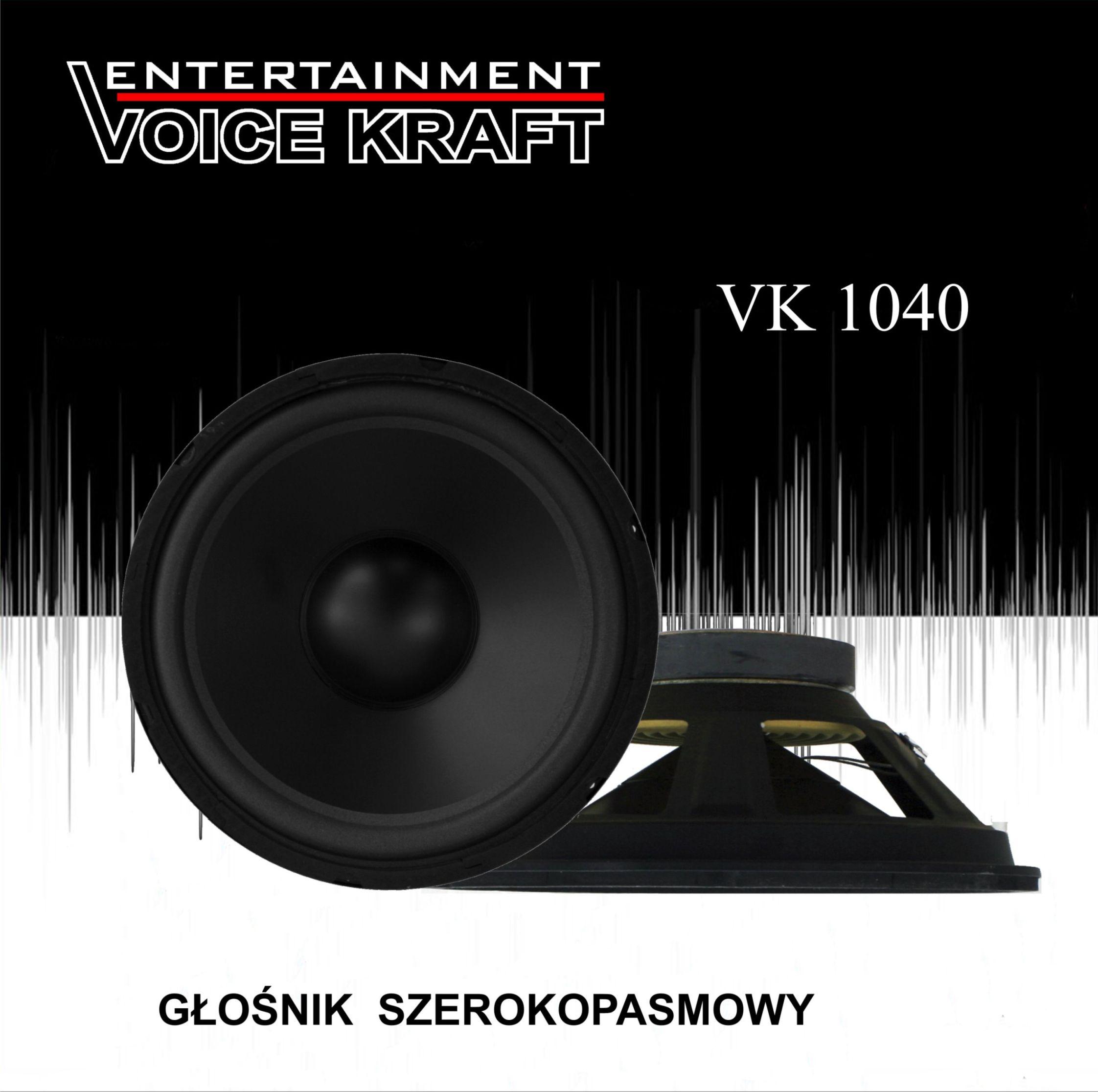 głośnik Voice Kraft 1040 box