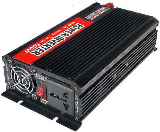 przetwornica z 12V na 230V 1200W max - przód