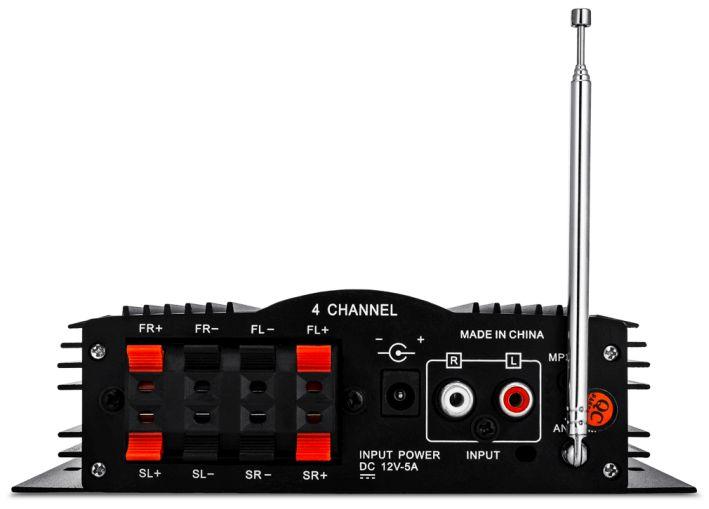 wzmacniacz Voice Kraft MA-200 back panel