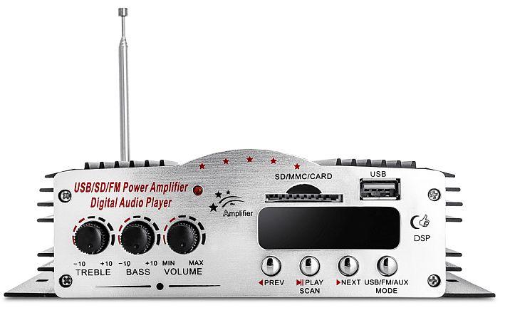 wzmacniacz Voice Kraft MA-200 front panel