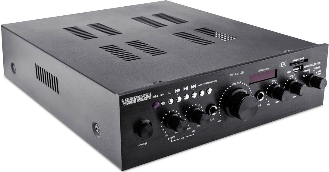 wzmacniacz Voice Kraft VK-338 amplifier 338 USB