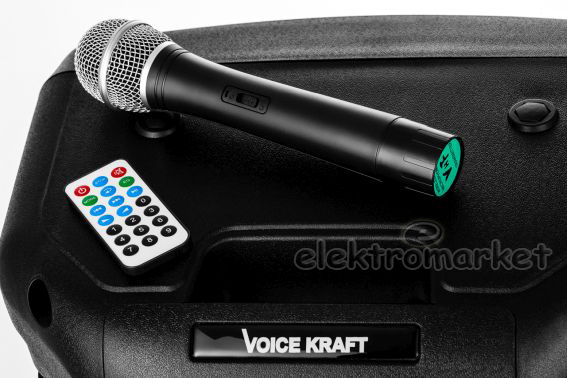 Kolumna-aktywna-VK12A2 mikrofon pilot