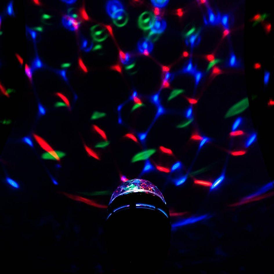 lampa LED disco efekty