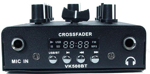 mikser audio VK-500BT front