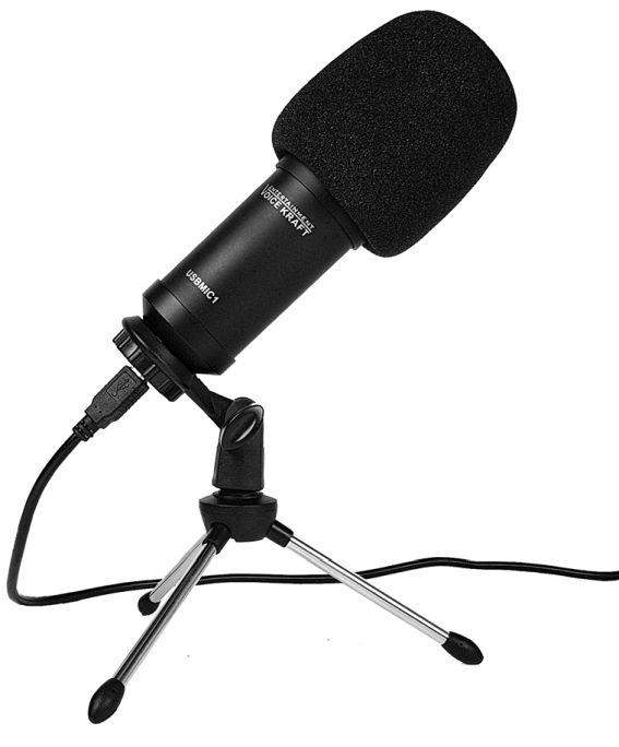 mikrofon pojemnościowy USB Voice Kraft