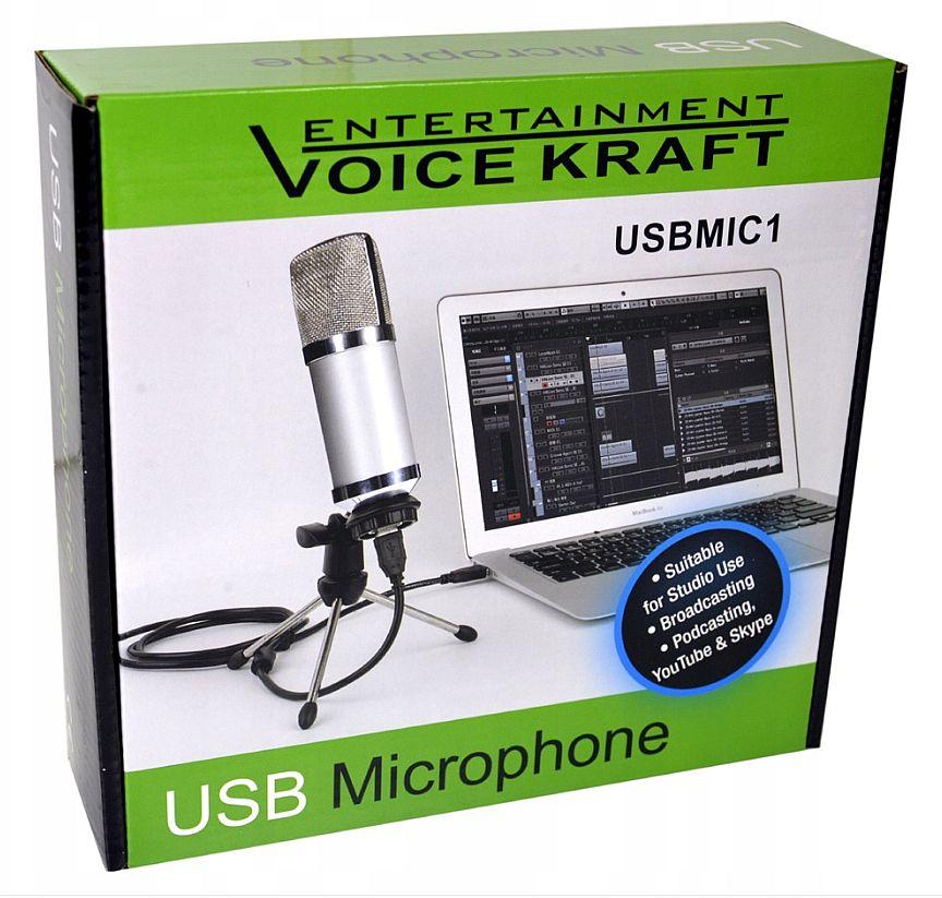 mikrofon USBMIC1 box