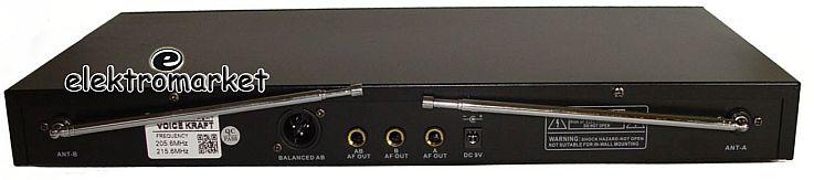 stacja bazowa mikrofonów bezprzewodowych VK 380