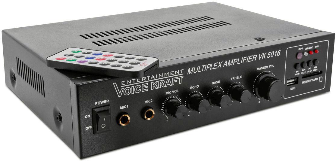 wzmacniacz P.A. radiowęzłowy VK5016