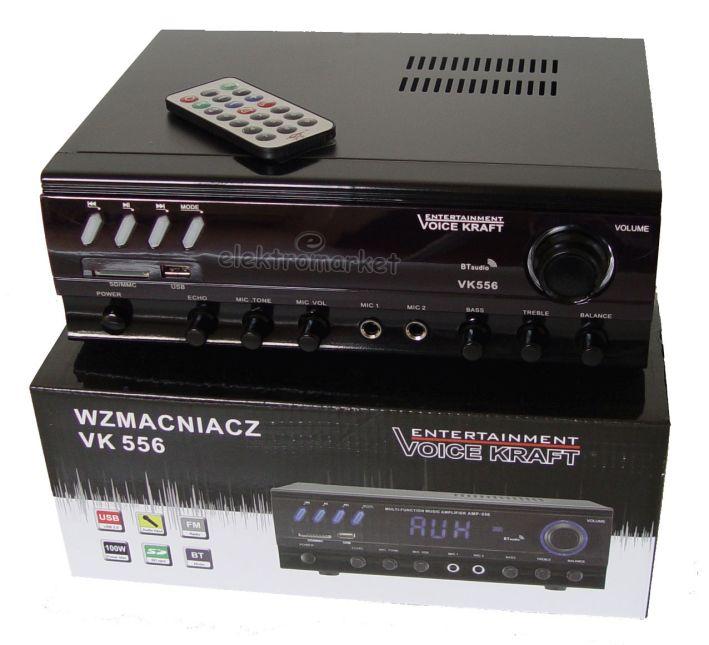 wzmacniacz VK-556 Voice Kraft na pudełku