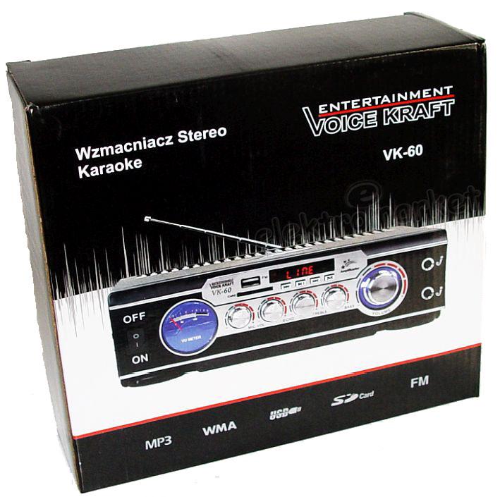 wzmacniacz VK-60 - pudełko