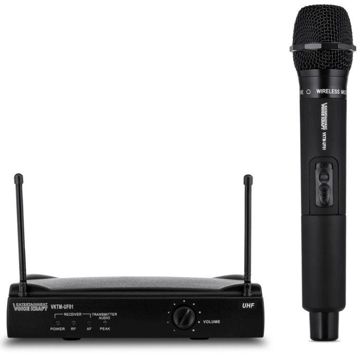 mikrofon bezprzewodowy UHF Voice Kraft UF01