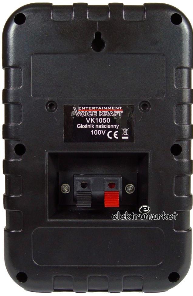 głośnik radiowęzłowy 100V VK-1050 tył