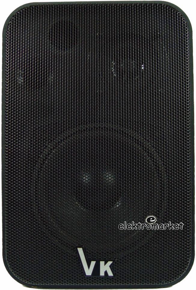 głośnik radiowęzłowy 100V VK-1050 czarny przód