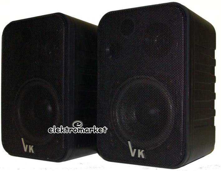 dwie kolumny VK-1050 czarne