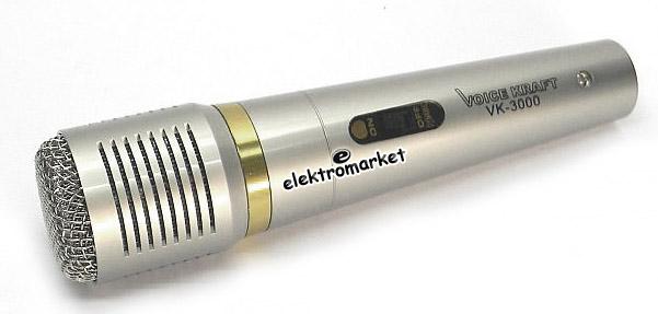 mikrofon VK-3000 widok z boku