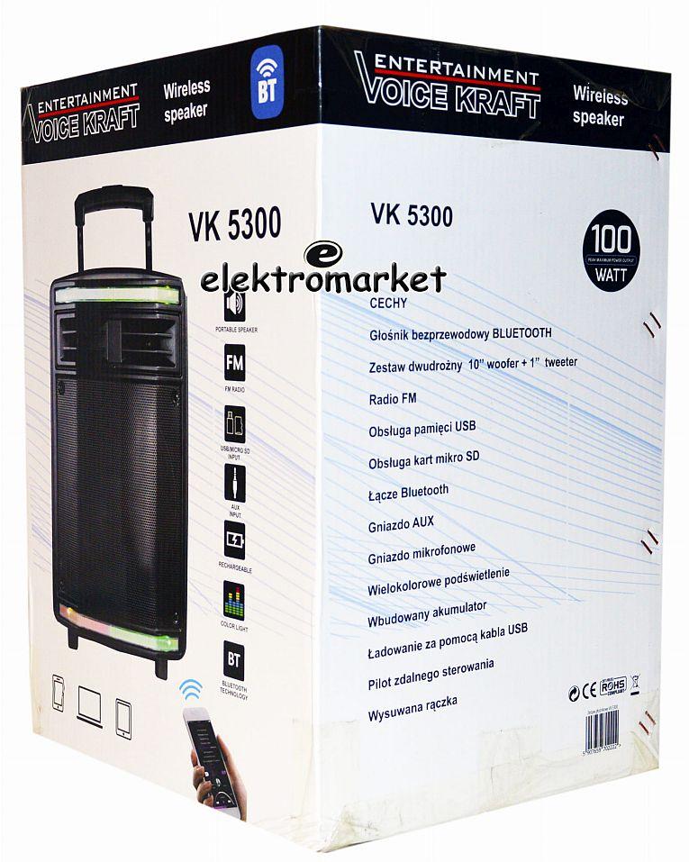 kolumna aktywna VK 5300 Voice Kraft box