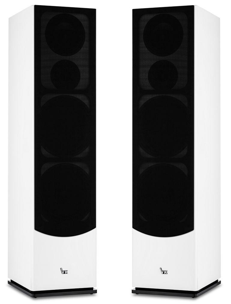 Kolumny VK-6300 białe z maskownicami