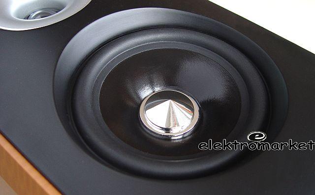 zbliżenie głośnika średnio tonowego kolumny VK-7830
