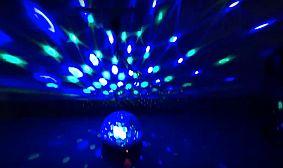 efekty disco magic ball