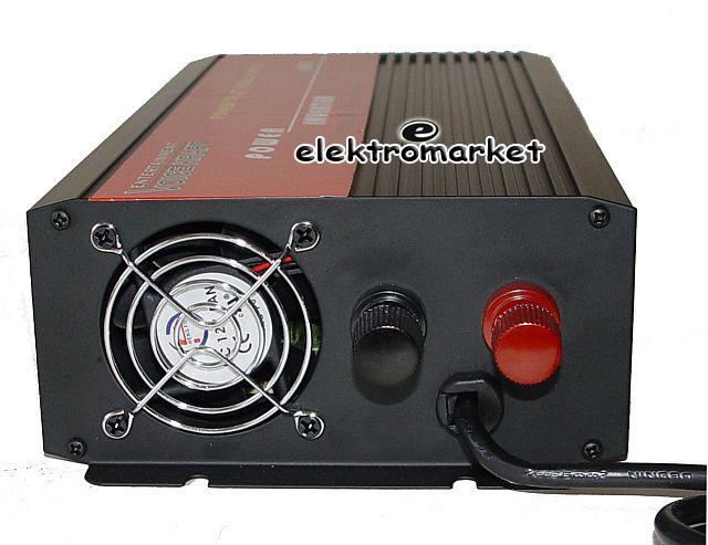 inverter VK 600 SPI 12V-230V back