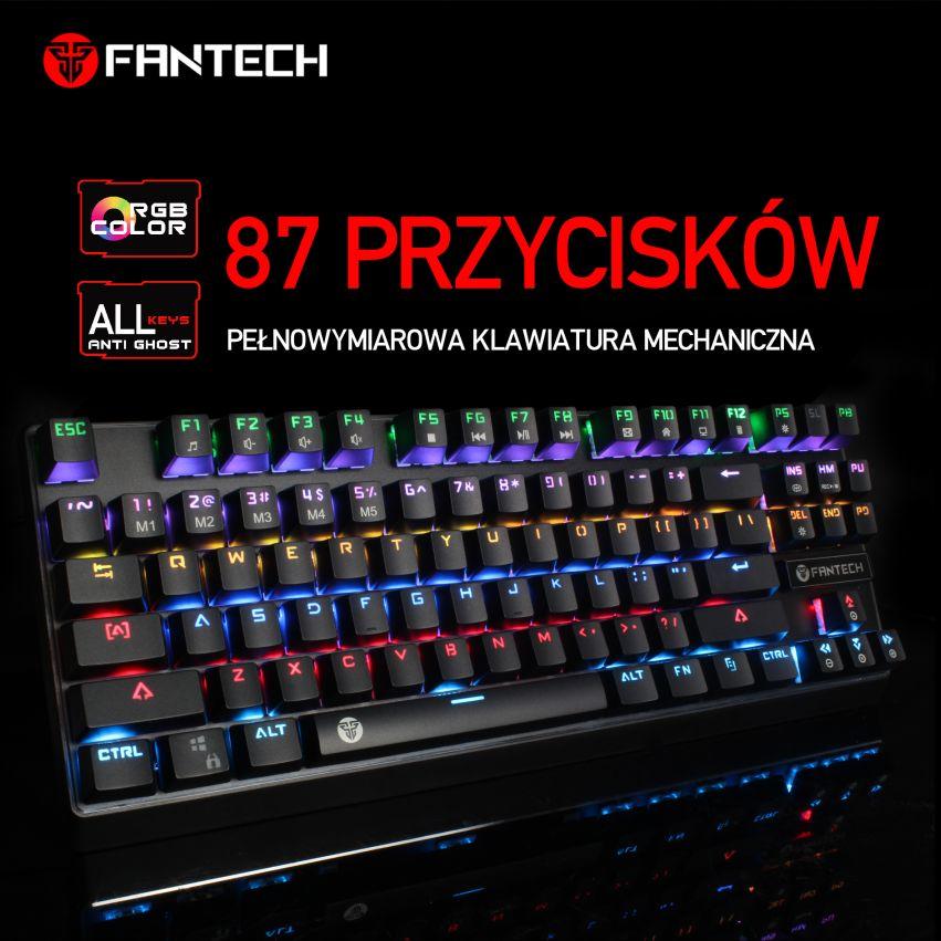 klawiatura mechaniczna Fantech MK871