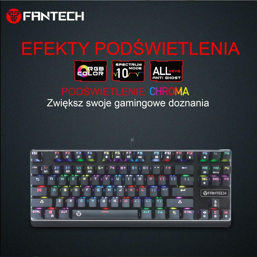 klawiatura mechaniczna Fantech MK871 5