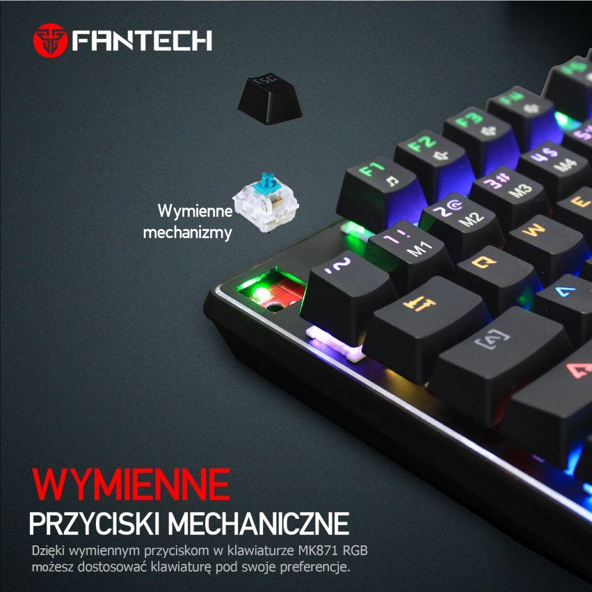 klawiatura Fantech MK871 wymienne przyciski