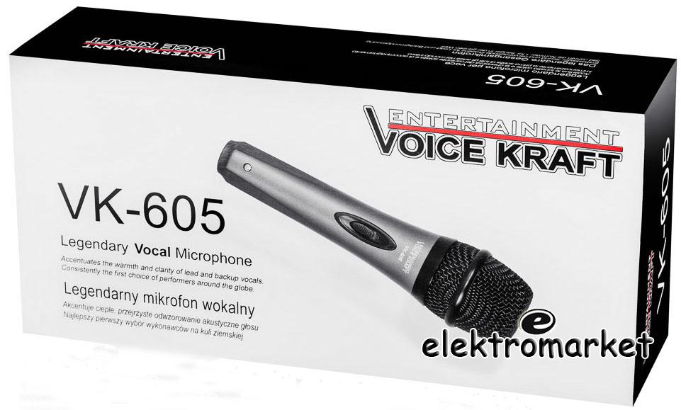 mikrofon dynamiczny Voice Kraft VK650 box