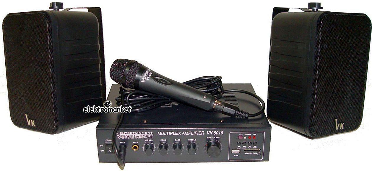nagłośnienie restauracji wzmacniacz P.A. głośniki mikrofon