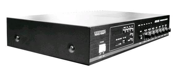 Wzmacniacz amplituner ABS-80U czarny lewy półprofil