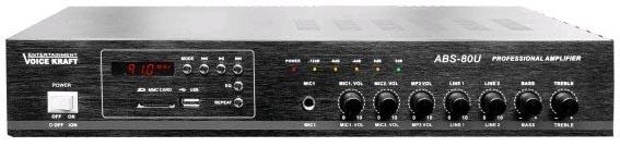 Wzmacniacz amplituner ABS-80U czarny